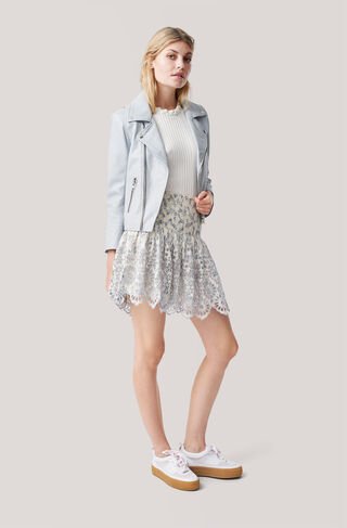 Emile Lace Skirt, Vanilla Ice, hi-res