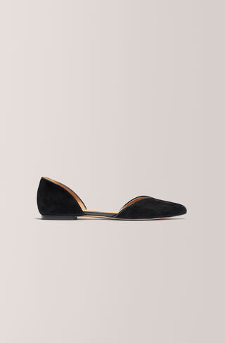 Carrie Flats, Black, hi-res