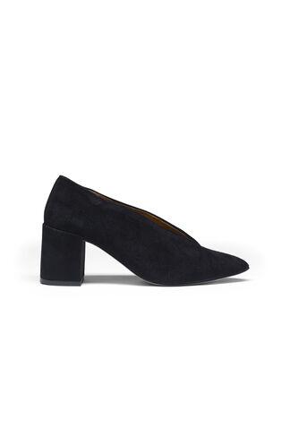 Veda Suede Shoes, Black, hi-res