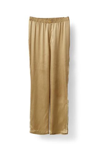 Fumiko Silk Pants, Cork, hi-res