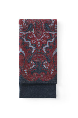 Carson Accessories Scarf, Total Eclipse Paisley, hi-res