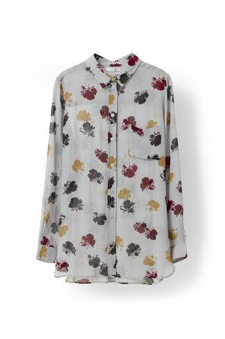 Bartlett Georgette Shirt, Quarry Petals, hi-res