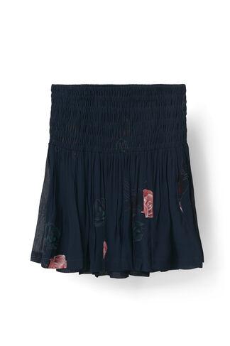 Dean Georgette Skirt, Total Eclipse, hi-res