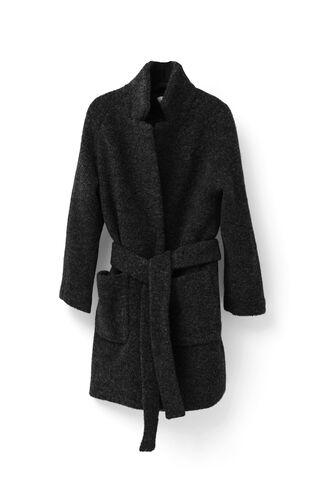 Fenn Wrap Coat, Black, hi-res