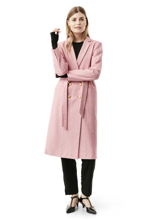 Hawthorne Wool Coat, Peony Melange, hi-res