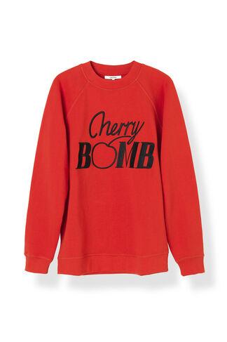 Lafayette Sweatshirt, Cherry Bomb, Fiery Red, hi-res