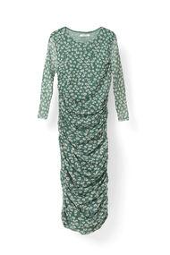 Capella Mesh Dress, Verdant Green, hi-res