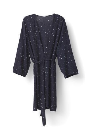 Rosemont Crepe Kimono, Dotted Eclipse, hi-res