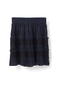 McKinney Pleat Skirt, Total Eclipse, hi-res