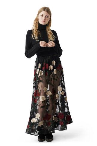 Simmons Skirt, Black, hi-res