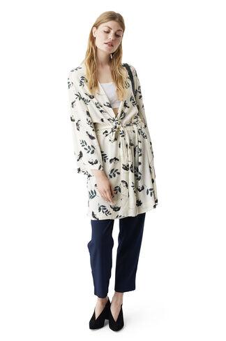 Rosemont Crepe Kimono, Vanilla Hemlock, hi-res