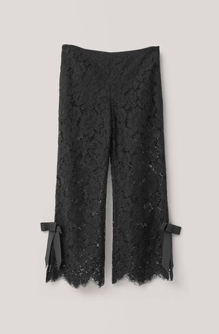 Duval Lace Pants, Black, hi-res
