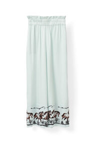 Jolly Silk Pants, Sterling Blue, hi-res