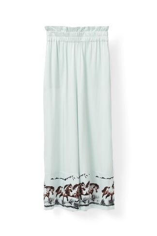 Jolly Silk Pants, Sterling Blue, hi-res