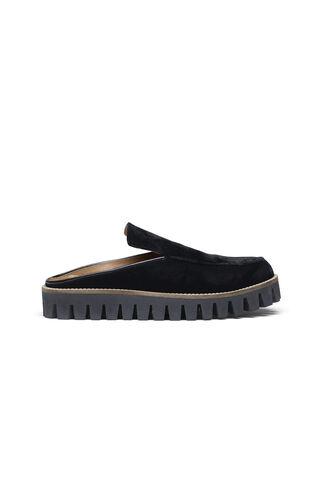 Mimi Velvet Shoes, Black, hi-res
