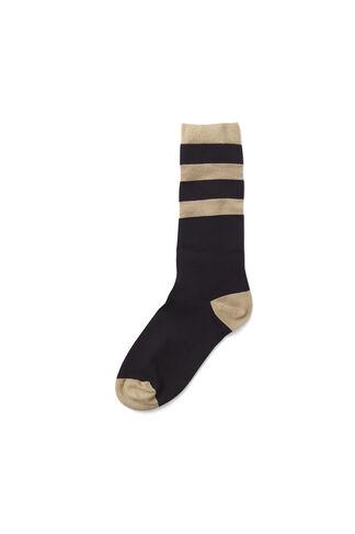 Paltrow Glitter Ankle Socks, Black, hi-res