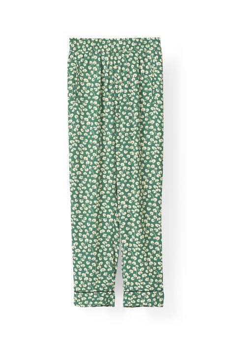 Dalton Crepe Pants, Verdant Green, hi-res