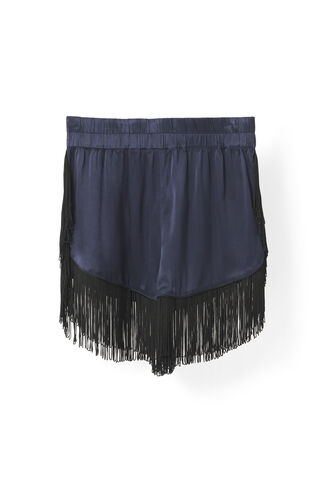 Donnelly Satin Shorts, Total Eclipse, hi-res