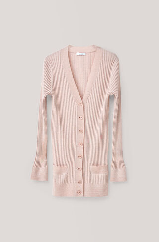 Romilly Cardigan, Cloud Pink, hi-res