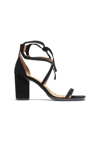 Jenny Sandals, Black, hi-res