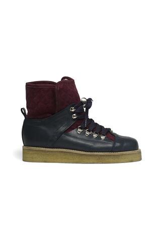 Mira Quilt Boots, Total Eclipse/Cabernet, hi-res