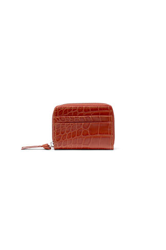 Gallery Accessories Purse, Red Clay Croco, hi-res