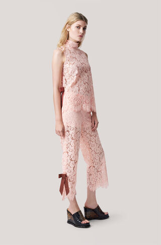 Duval Lace Top, Cloud Pink, hi-res