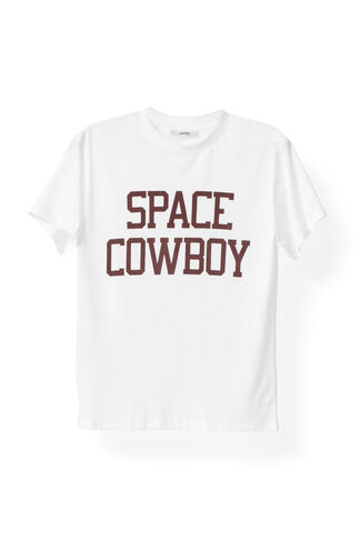 Harvard T-shirt, Space Cowboy, Bright White, hi-res