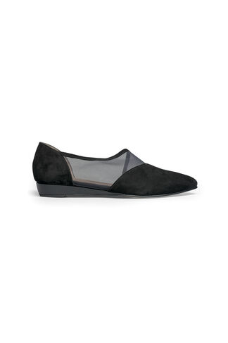 Nyoko Mesh Shoes, Black, hi-res