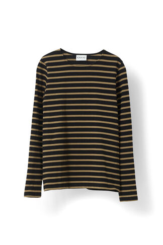 Old Spice Jersey T-shirt, Black/Tobacco Brown, hi-res
