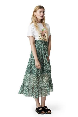 Capella Mesh Skirt, Verdant Green, hi-res