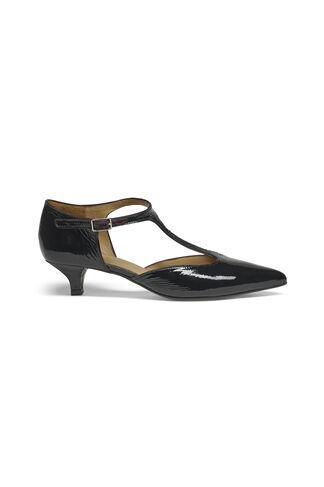 Amelia Cracked Shoes, Black, hi-res