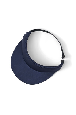 Donnelly Satin Accessories Sun Cap, Total Eclipse, hi-res