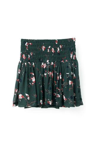 Marietta Georgette Skirt, Pine Grove Leaves, hi-res