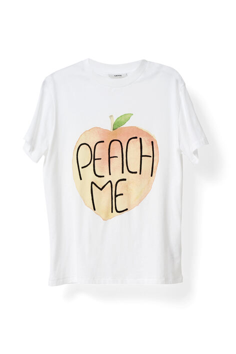 Harvard T-shirt, Peach Me, Bright White, hi-res