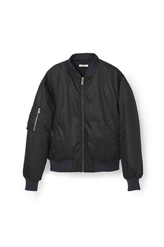 Greenwood Bomber Jacket, Black, hi-res