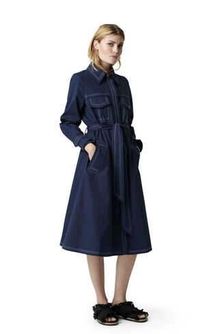 Phillips Cotton Coat, Total Eclipse, hi-res