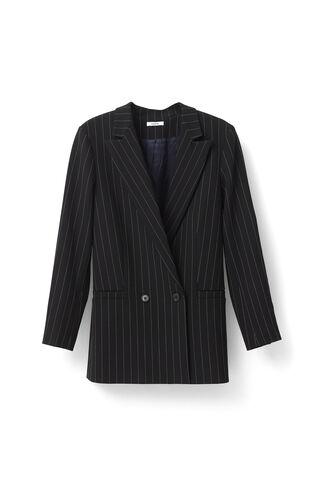 Moscow Tailor Blazer, Black/Vanilla Ice, hi-res