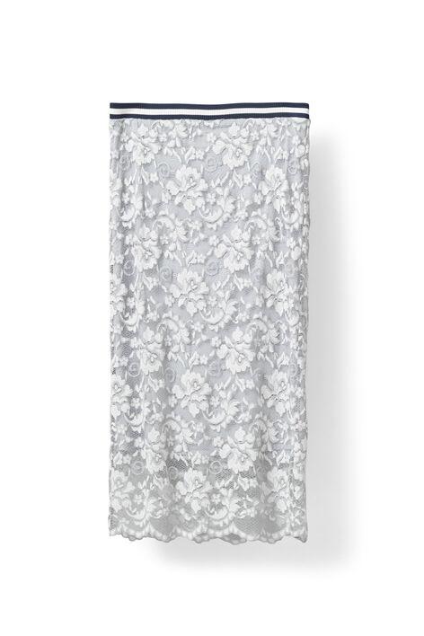 Ayame Lace Skirt, Pearl Blue, hi-res