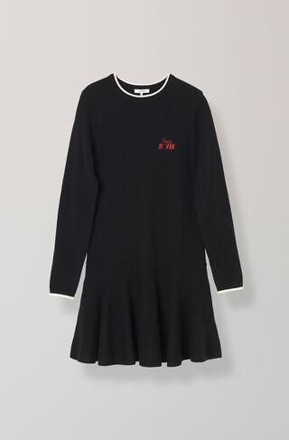Mercer Knit Dress, Black, hi-res