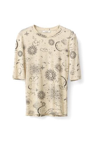 Linfield Lyocell T-shirt, Biscotti Galaxy, hi-res