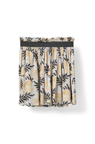 Miku Georgette Skirt, Cork Flowers, hi-res