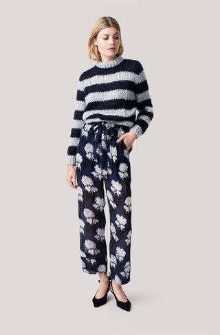 Monette Georgette Pants, Total Eclipse, hi-res