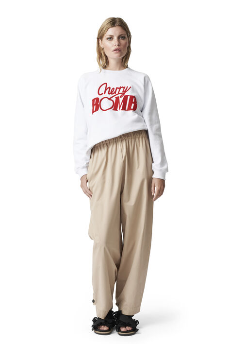 Jefferson Isoli Sweatshirt, Cherry Bomb, Bright White, hi-res