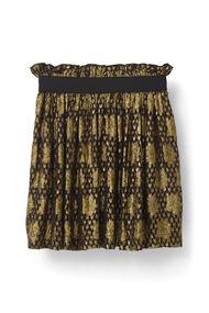 Emiko Jacquard Skirt, Black, hi-res
