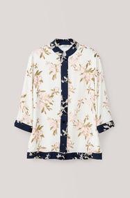 St. Pierre Crepe Shirt, Vanilla Ice, hi-res