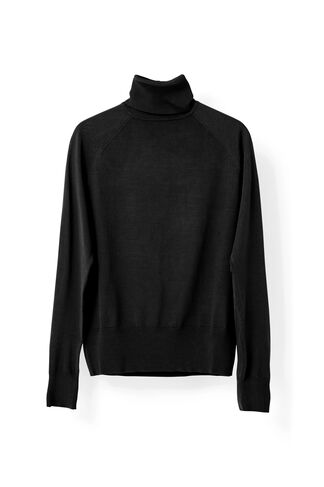 Evangel Rollneck, Black, hi-res