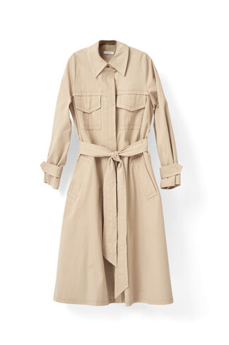 Phillips Cotton Coat, Cuban Sand, hi-res