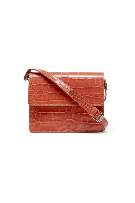 Gallery Accessories Bag, Red Clay Croco, hi-res