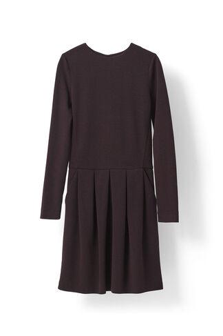 Wilkinson Dress, Black/Cabernet, hi-res